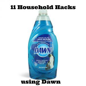 11 household hacks using dawn
