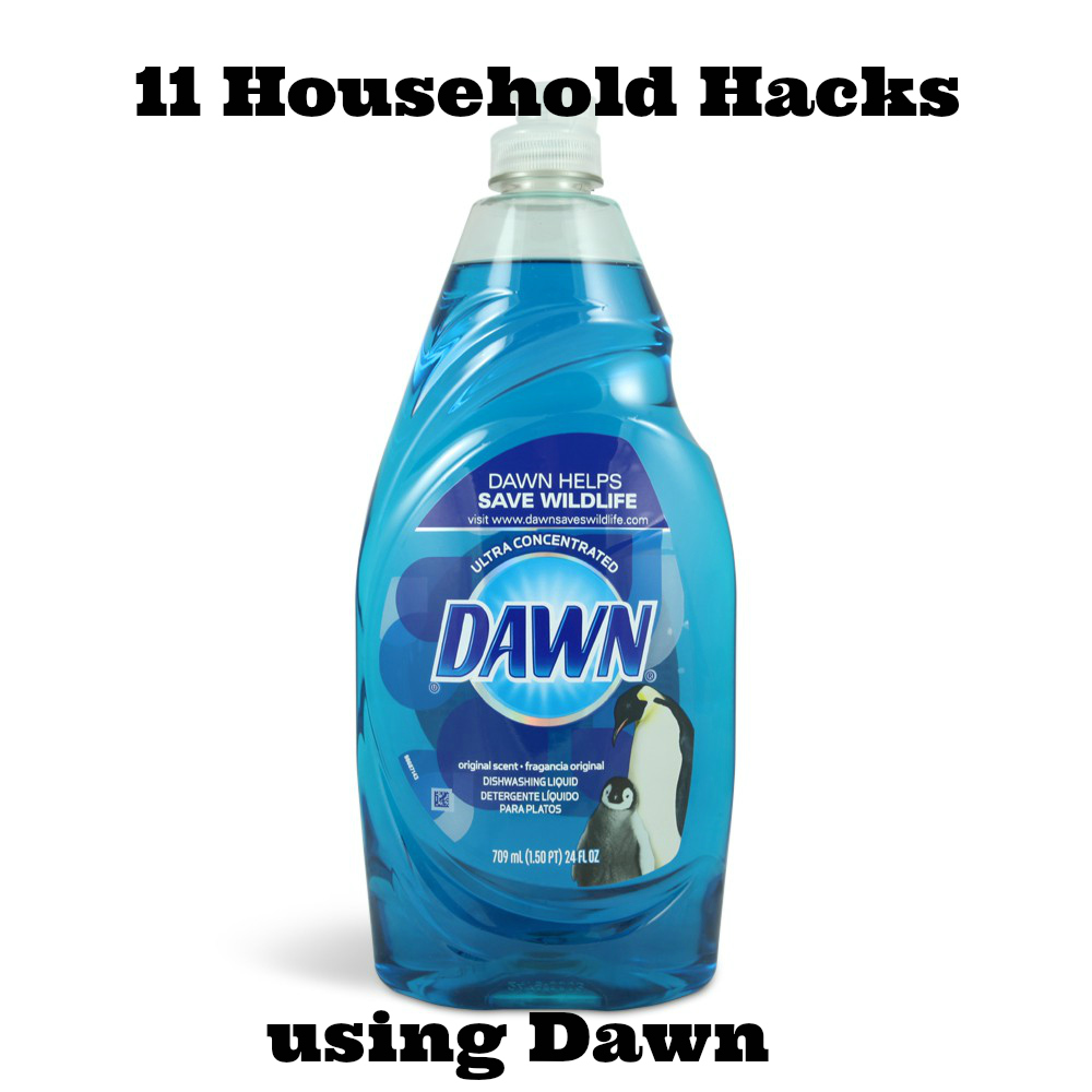 11 household hacks using dawn mormon hub for Household hacks