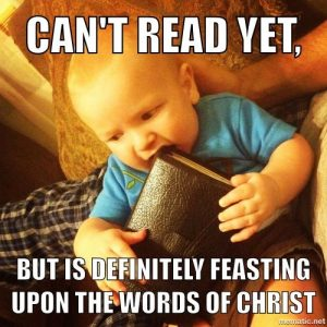 Feasting on the Words