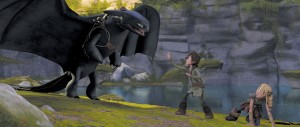How to train your dragon Hiccup saving girl