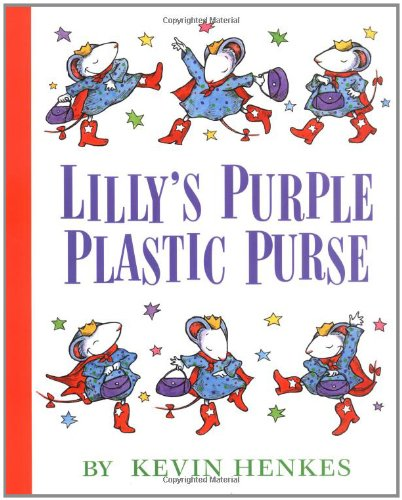 Lillys Purple Plastic Purse book