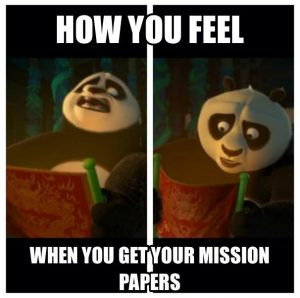 lds mission papers