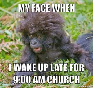 My Face When I Wake Up