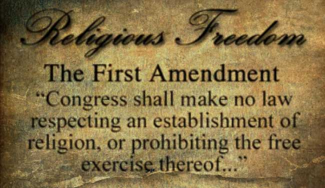 First Amendment of the Constitution of the United States