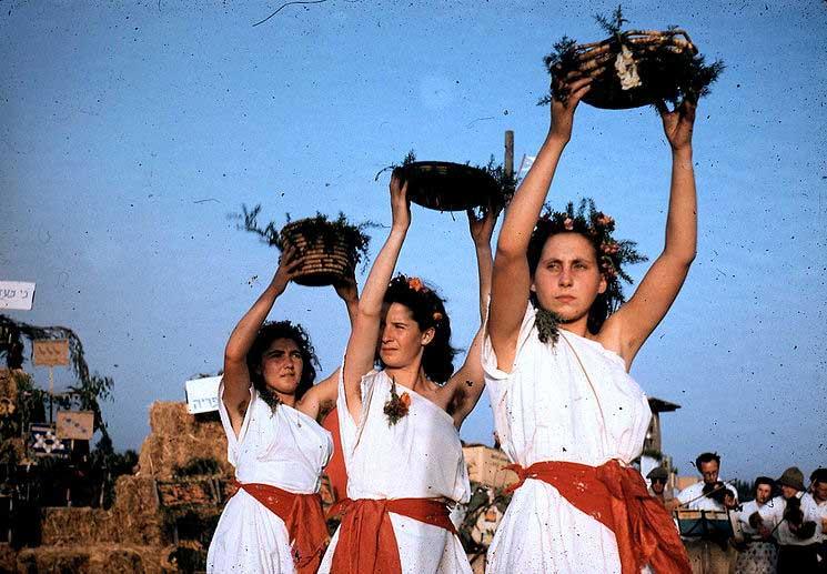 feast of weeks celebration in Israel