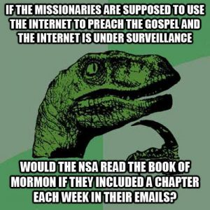 The NSA Book of Mormon