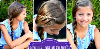 Waterfall Rope Braid