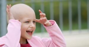 smiling Cancer patient