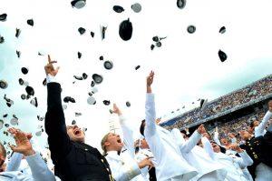 celebrating after graduation