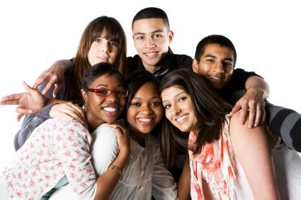 Diverse LDS Teen Friends