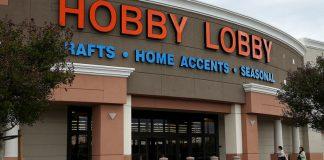 Hobby Lobby storefront