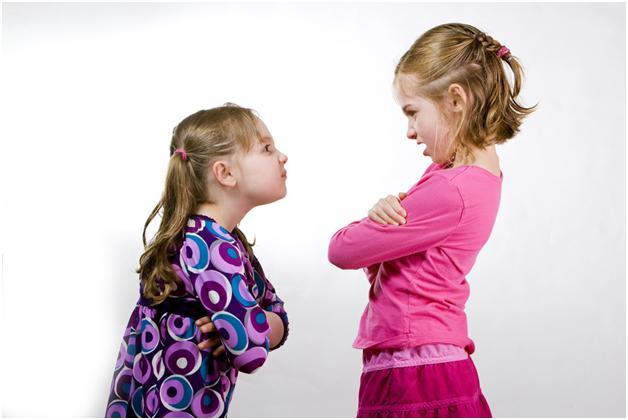 kid arguing