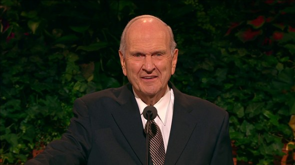 Current photo of Russell M. Nelson