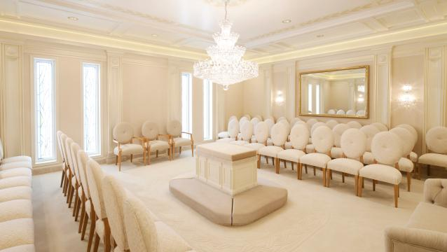 lds temple sealing room