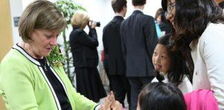Sister Oscarson in South Korea