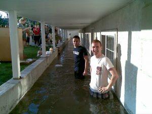 Flash flood in rexburg leaves students homeless