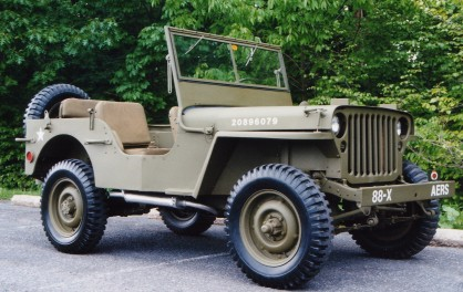 LDS High priests are military jeeps