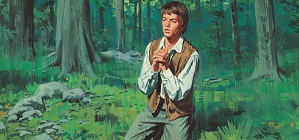 Joseph Smith praying
