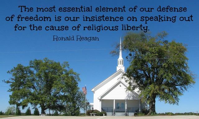 Religious freedom Reagan