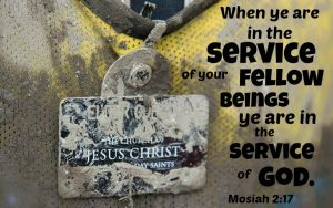 Service God Mosiah