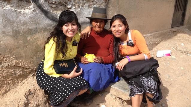 Peru Sister Missionaries