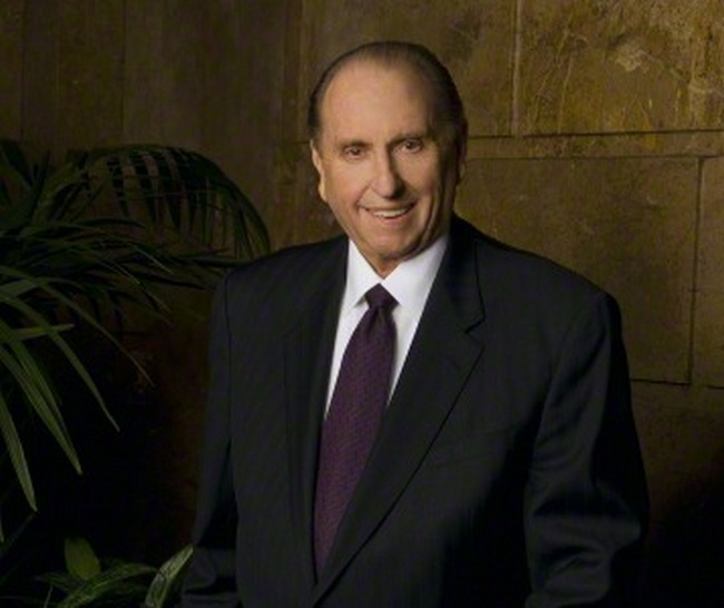 Current Photo of President Thomas S. Monson