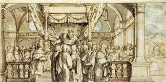 Hans Holbein The Arrogance of Rehoboam