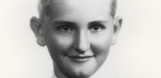 Portrait of Thomas S. Monson as a boy