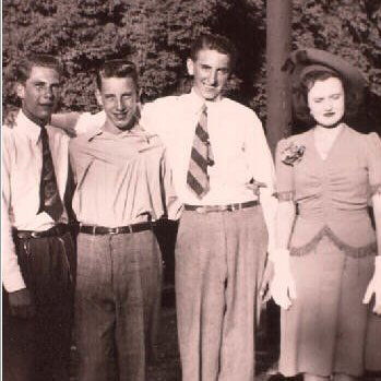Thomas S. Monson with Frances and other friends
