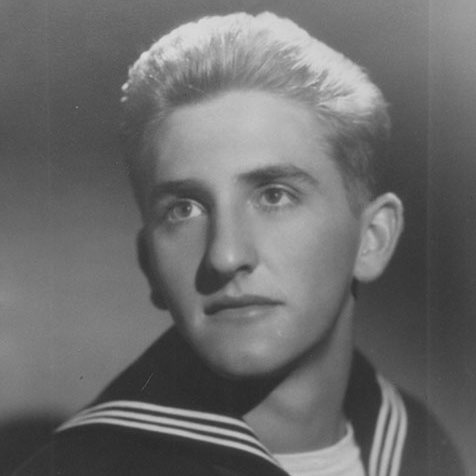 Thomas S. Monson's navy potrait
