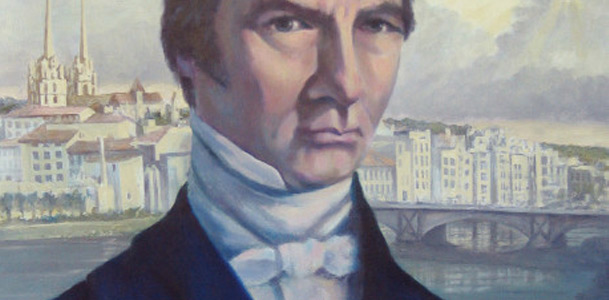 Painting of Frederic Bastiat