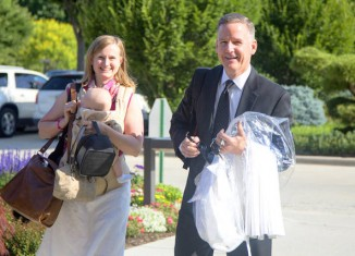 The Casto family was sealed in the Washington D.C Temple on June 28, 2014. From the Deseret News