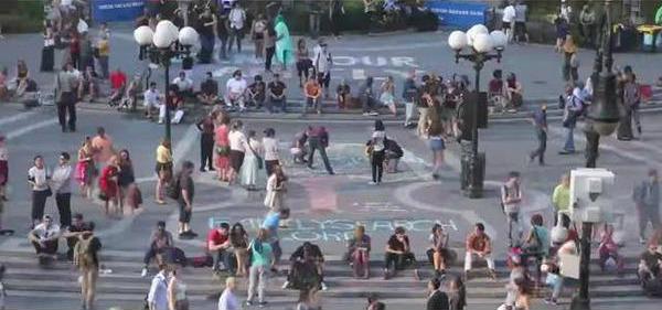 FamilySearch Chalk Art NYC