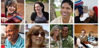 Faces of Mormon.org profiles
