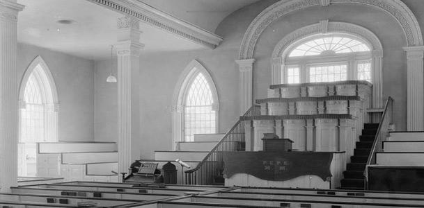 Chapel in Kirtland Temple