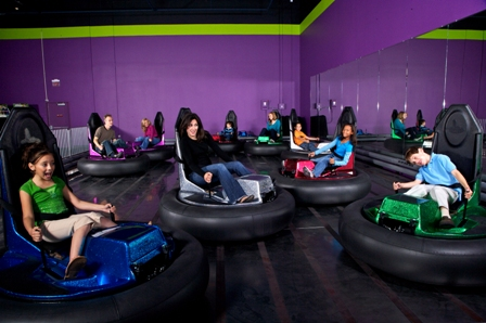 LDS primary kids are bumper cars