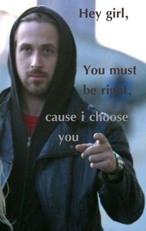 Ryan Gosling, Hey girl, meme
