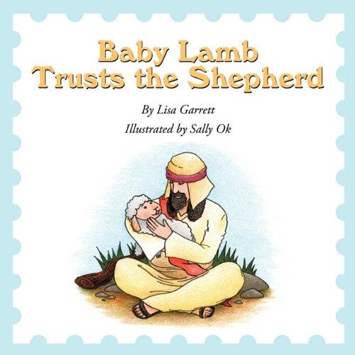 Baby Lamb Trusts the Shepherd