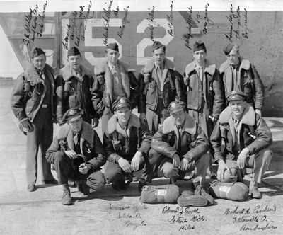 Boyd K Packer and his bomber crew