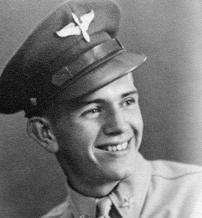 Boyd K Packer as an air cadet