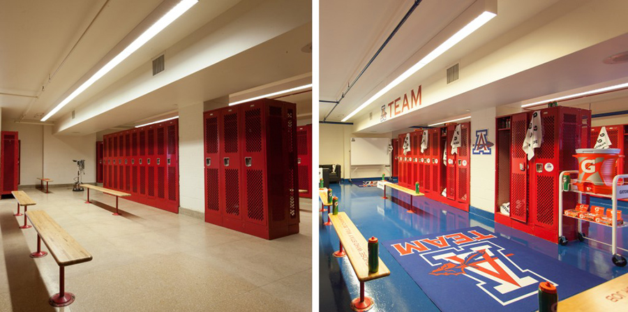 Bryce Harper Locker Room before:after