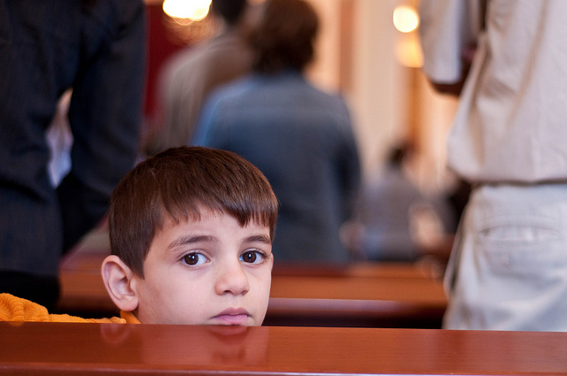 Image result for child in church