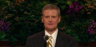 current photo of Elder David A. Bednar