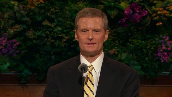 current photo of Elder David A. Bednar
