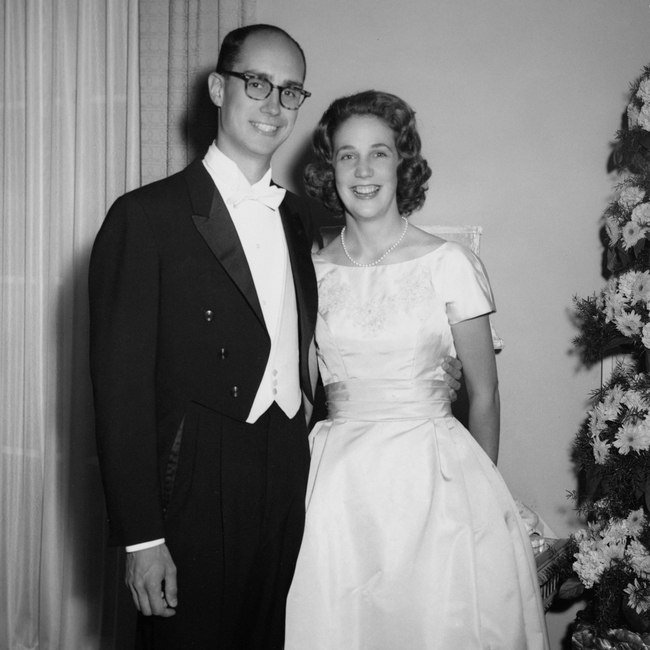 Henry and Kathleen Eyring wedding