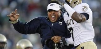 Navy Coach Ken Niumatalolo