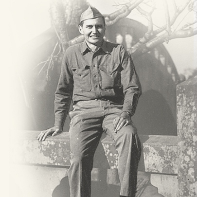 L Tom Perry as a Marine
