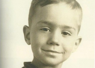 Portrait of Henry B. Eyring as a boy