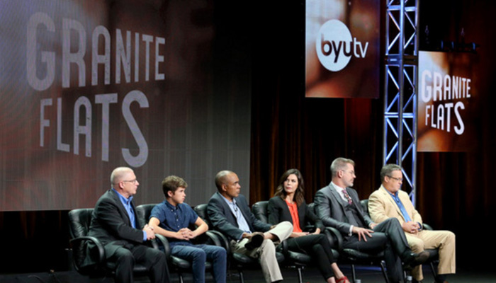 BYUtv presents to Television Critics Association