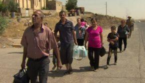 Christians fleeing Iraq